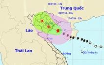 Bão số 1 áp sát bờ biển Thái Bình - Ninh Bình