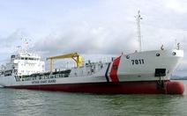 Tiếp nhận tàu cảnh sát biển vận tải tổng hợp hiện đại