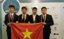 Olympic hóa học quốc tế:Việt Nam có 2 vàng, 1 bạc