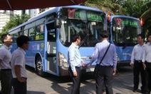 TP.HCM đẩy mạnh xe buýt dùng khí nén thiên nhiên