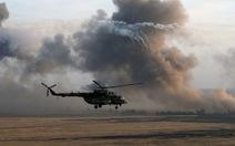 Trực thăng Nga chở 5 người bị bắn rơi ở Syria