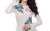Ngắm 36 ứng viên Hoa hậu Việt Nam mặc áo dài