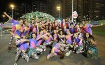 Đoàn thể thao VN được chào đón bằng vũ điệu samba