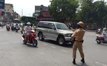Trên 500 trường hợp vi phạm giao thông bị xử lý ở Hà Nội