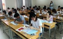 2.363 thí sinh làm bài kiểm tra năng lực củaĐH Luật TP.HCM