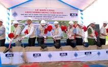 Khởi công nhà máy xử lý nước thải tại VSIP Nghệ An