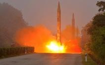 Triều Tiên bắn tên lửa đạn đạo ra biển Nhật Bản