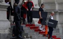Tân tổng thống Peru cùng nội các tập thể dục trước buổi họp