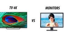 Có nên mua tivi 4K làm màn hình vi tính?
