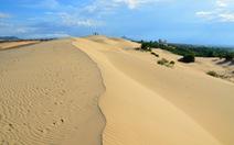 Cồn cát ven biển - hứa hẹn tài nguyên