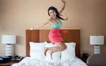 Clip: ngôi sao gốc Việt Jeannie Mai chia sẻ bí quyết làm đẹp