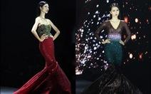 Đầmdạ hội đuôicácảm hứng từ Hồ Ngọc Hà