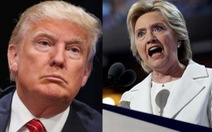 """Cuộc đấu khẩu của ông Trump và bà Clinton về """"nhà sáng lập IS"""""""