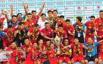 Vòng 17 Giải hạng nhất 2016: TP.HCM vô địch, Cà Mau rớt hạng