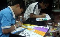 Hơn 160 học sinh thi vẽ tranh bảo vệ nguồn nước