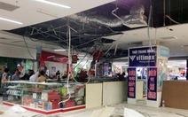 Sập trần thạch cao siêu thị Big C Vinh, khách hàng bỏ chạy