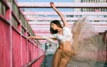 Xem ảnh vũ công ballet trên phốNew York đẹp mê ly