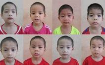 """Ai là người thân 8 bé """"Hòa, Xã, Hội, Chủ, Nghĩa, Việt, Nam, Hùng"""""""