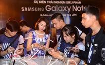 Rầm rộ các buổi Offline, ra mắt Galaxy Note7 khắp cả nước
