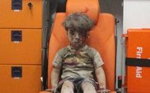 Cậu bé Syria thành biểu tượng nỗi đau chiến tranh