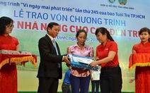 Xúc động lễ trao vốn tiếp sức 60 hộ nghèo Bình Định