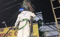 Biến áp điện cháy gây mất tín hiệu truyền hình cáp HTVC