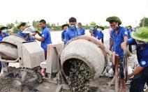 Sản phẩm tình nguyện hoàn chỉnh góp phần thay đổi địa phương