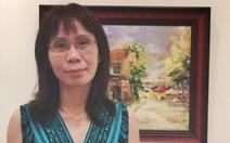 Bạch Hoàng Anh về Sài Gòn triển lãm, tặng học bổng
