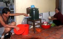 Bình Chánh than khó mời thầuthiết bị lọc nước cấp cho dân