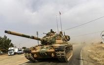 Xe tăng Thổvượt biên giới, Nga - Syria phản ứng