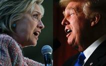 Bà Clinton, ông Trump đấu khẩu về cử tri thiểu số
