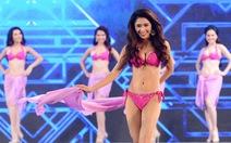 Clip thí sinh trình diễn áo tắm tại Hoa hậu Việt Nam