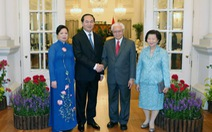 Tổng thống Singapore: Mở rộng hợp tác kinh tế với Việt Nam