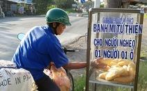 """Tủ bánh mì miễn phí làm """"ấm lòng"""" người nghèo ở An Giang"""