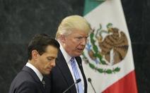 Mexico tuyên bố không trả tiền cho bức tường của ông Trump