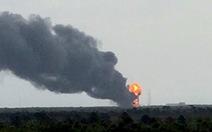 Nổ lớn ở trung tâm phóng tên lửa cung cấp đồ cho ISS