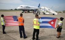 Chuyến bay thương mại đầu tiên của Mỹ đáp xuống Cuba