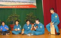 Thủ lĩnh Đoàn lực lượng vũ trang TP.HCM đua tài