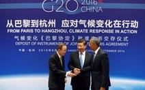 Mỹ, Trung Quốc chính thức tham gia hiệp định Paris