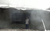 Nhà máy ximăng phun bụi phủ trắng nhà dân