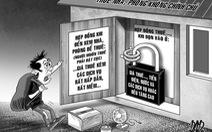 Thuê nhà, phòng trọ: coi chừng bị lừa