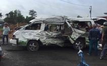 Đụng xe ở Đồng Nai, 1 người chết, 10 người bị thương