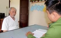 Tạm giữ ông già 63 tuổi giả tướng quân đội lừa xin việc