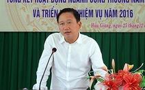Tỉnh ủy Hậu Giang không liên lạc được với ông Trịnh Xuân Thanh