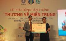 """""""Thương về miền Trung"""" hoàn thành trao 50.000 phần quà"""