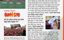 Đón đọc TTCT số 35 có trên sạp báo ngày 9-9