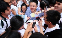GS Ngô Bảo Châu trò chuyệntại Hội sách mùa thu
