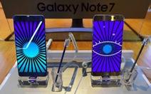Mỹ khuyến cáo người dân dừng sử dụng Galaxy Note 7