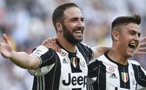 Higuain tỏa sáng, Juventus thắng trận thứ ba liên tiếp