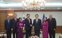 Đoàn đại biểu TP.HCM được chào đón nồng nhiệt tại Hàn Quốc